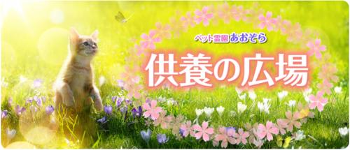 ペット霊園あおぞらHPリニューアルオープン!